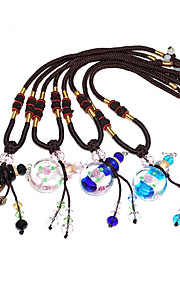 Personalized Coloured Glaze Necklaces Bride Bridesmaid Birthday Daily Wear