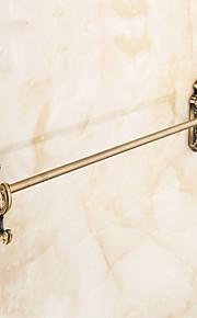 タオルバー 多機能 アンティーク 真鍮 1個 - ホテルバス 壁式