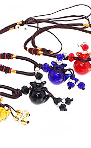 Non-personalized Coloured Glaze Necklaces Bride Bridesmaid Birthday Daily Wear