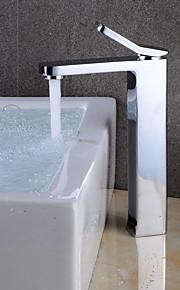 욕실 싱크 수도꼭지 - 와이드 스프레드 크롬 주방, 욕조수전(Centerset) 싱글 핸들 하나의 구멍