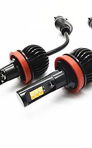 2pcs H8 / 9006 / 9005 Bil Elpærer 20W SMD 3030 720lm 12 LED Tågelys For General Motors General Motors Alle år