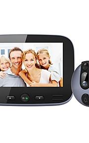 M-100 Filo Fotografato Registrazione 4.3inch Sistema Hands-Free One to One video citofono