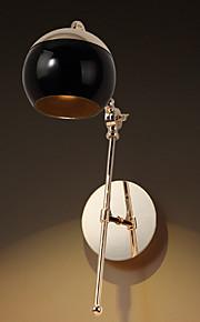 Cristallo / Moderno / Contemporaneo Decorativo Lampada da tavolo Per Al Coperto Metallo 220-240V Nero