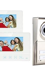 MOUNTAINONE SY811WMC12 Two Apartment Family Video Door Phone Sistema Hands-Free 480*234Pixel Uno o due video citofono