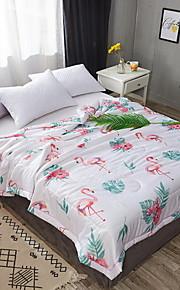Comfortabel - 1 bedsprei Zomer Katoen / Polyester Bloemen / Geometrisch