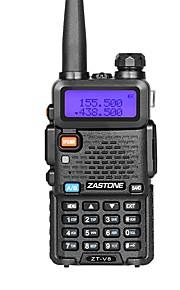 V8 Walkie-talkie Håndholdt Dual-band 128 1800mAh 5W Walkie talkie Tovejs radio