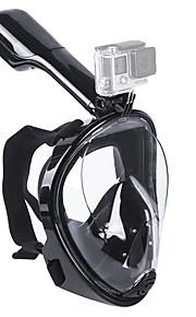 Potápěčské masky Maska na šnorchlování Celoobličejová maska Pod vodou 180 stupňů Single Window - Plavání Potápění Silikon - pro Dospělí Děti Zelená Modrá Růžová / Nepropustný / Proti zamlžování