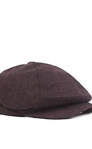 男性用 コットン, ソリッド ベレー帽