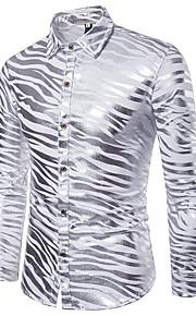 男性用 シャツ ストリートファッション ストライプ