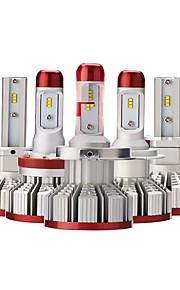 OTOLAMPARA 2pcs H10 / H9 / H7 차 전구 55 W 고성능 LED 6200 lm 6 LED 헤드램프 제품 Volkswagen / Toyota / Honda Focus / Polo / Golf 2,018