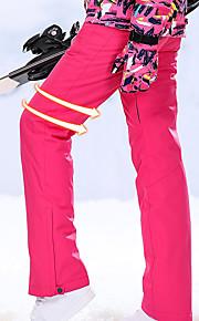 High Experience 女性用 スキーパンツ 防水 保温 防風 スキー スノーボード ウィンタースポーツ POLY テリレン 絹布 スノービブパンツ スキーウェア / 冬