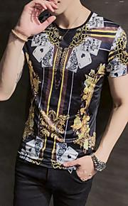 男性用 Tシャツ ストリートファッション グラフィック