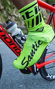 SANTIC Dospělé Cyklo návleky na boty Voděodolný Protiskluzový Multisport Cyklistika / Kolo Trávová zelená Černá Rubínově červená Unisex Obuv na cyklistiku