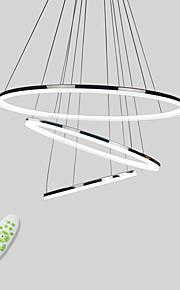 원형 펜던트 조명 다운라이트 일렉트로플레이티드 금속 아크릴 미니 스타일, LED 110-120V / 220-240V 웜 화이트 / 콜드 화이트 / 원격 제어로 조광 가능 LED 광원 포함 / 집적 LED / FCC