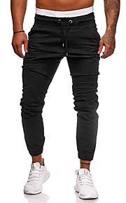 男性用 / 女性用 ベーシック / ストリートファッション チノパン / スウェットパンツ パンツ - ソリッド ダックグレー
