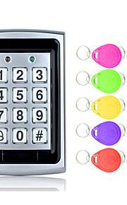 5YOA B02-10KeyTK4100 액세스 제어 시스템 세트 / 액세스 제어 키패드 RFID 암호 / ID 카드 홈 / 아파트 / 학교