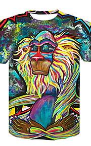 Ανδρικά T-shirt Ζώο Ουράνιο Τόξο XXL