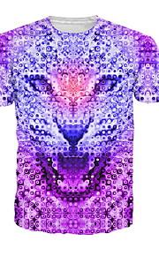 Ανδρικά T-shirt Ζώο Βυσσινί XXXL