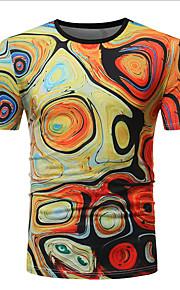 T-skjorte Herre - Geometrisk Regnbue XL