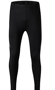 Hombre Básico Pantalones de Deporte Pantalones - Un Color Verde Trébol
