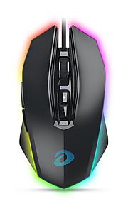dareu em925 pro 유선 usb 옵티컬 게이밍 마우스 멀티 컬러 백라이트 12000 dpi 7 개 키