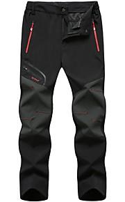 Hombre Básico Pantalones de Deporte Pantalones - Un Color Negro