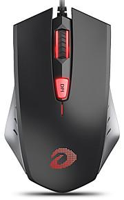 dareu lm109 유선 usb 옵티컬 게이밍 마우스 멀티 컬러 백라이트 1000/1500/2000 dpi 3 개의 조절 가능한 dpi 레벨 6 개 키