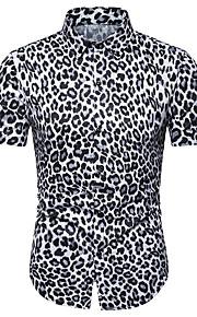 T-shirt Per uomo Monocolore Marrone XL