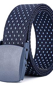 Unisex Pracovní / Základní / Volné kudrliny Skinny pásek - Jednobarevné / Puntíky / Barevné bloky