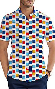 Skjorte Herre - 3D Grunnleggende Hvit XXL