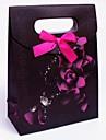 cutie favoare cu arcul roz (set de 12)