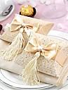 pernă carte de hârtie favoare titular cu ciucuri favoare cutii-12 nunti favoruri