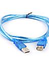 USB 2.0 Cablu prelungitor AM / AF de sex masculin la 1,8 m de sex feminin