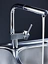 Armatur fuer die Kueche - Ein Loch Chrom Pull-out / Pull-down deckenmontiert Moderne Kitchen Taps / Einhand Ein Loch