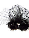 Femei Satin Tul Diadema-Nuntă Ocazie specială Pălărioare