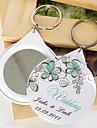 Plastic Favoruri Keychain-12 Piece / Set Brelocuri Temă Grădină Personalizat Alb / Verde