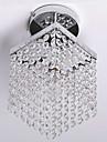 Modern Kristall Ministil Takmonterad Glödande Till Vardagsrum Sovrum Matsalsrum 110-120V 220-240V Glödlampa inte inkluderad
