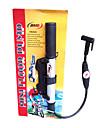 högt tryck Al-legering bärbar cykel mini pump med manometer