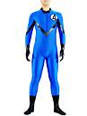 Collants Ninja Costume Zentai Costumes de Cosplay Bleu Couleur Pleine Collant / Combinaison Combinaison-pantalon Costume Zentai Lycra