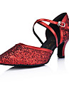 similicuir / mousseux paillettes supérieure chaussures de bal de danse moderne pour les femmes d'autres couleurs