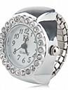 Women\'s Ring Watch Diamond Watch Japanese Quartz Silver Casual Watch Analog Ladies Sparkle Fashion