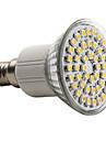150 lm E14 LED-spotlights MR16 48 lysdioder SMD 3528 Varmvit AC 220-240V