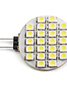 2W 6000 lm G4 LED Spot Lampen 24 Leds SMD 3528 Natuerliches Weiss DC 12V