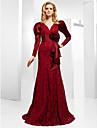 HANNE - Kleid für Abendveranstaltung aus Satin und Spitze