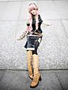 Inspirat de Vocaloid Megurine Luka Video Joc Costume Cosplay Costume Cosplay Fără mâneciGeacă / Platoșă / Rochie / Mânecă / Banderolă /