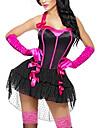 sexig kvinna rosa Halloween-kostym klänning (3pieces)