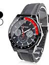 plastic analog ceas de mână cuarț bărbați (culori asortate)