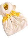 nobil model floral ștanțare aur rochii de seara stil pentru câini (culoare asortată, XS-XL)