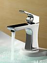 se presara ® de lightinthebox - finisaj cromat centerset singur mâner din alamă baie chiuveta robinet