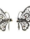 fluture aliaj separat în formă de placare inele duble